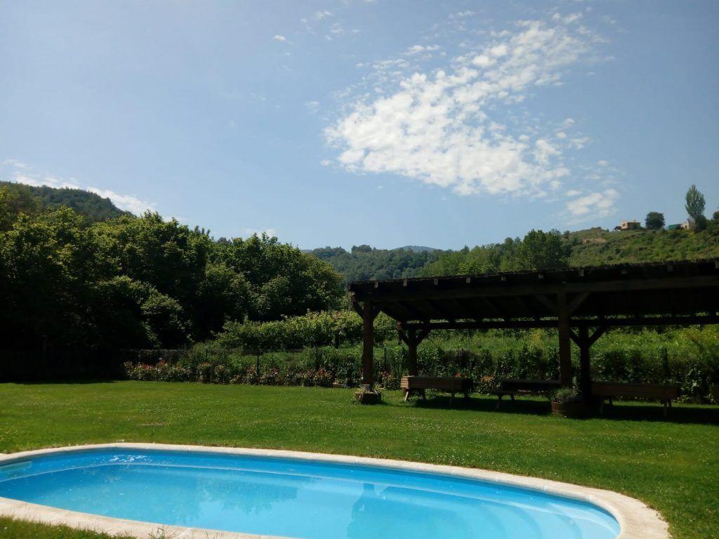 Apartamento rural La Rioja con piscina